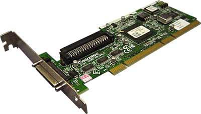 Adaptec 29160LP 64-Bit Ultra160 SCSI Controller Card. Works in both 32bit and 64bit PCI slots.