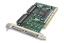Adaptec 39320A-R Dual-Channel 64-Bit/133MHz PCI-X Ultra320 SCSI Card w/ HostRAID