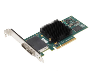 ATTO ExpressSAS H380 8-External Port SAS/SATA II PCIe Host Adapter. Card Only.
