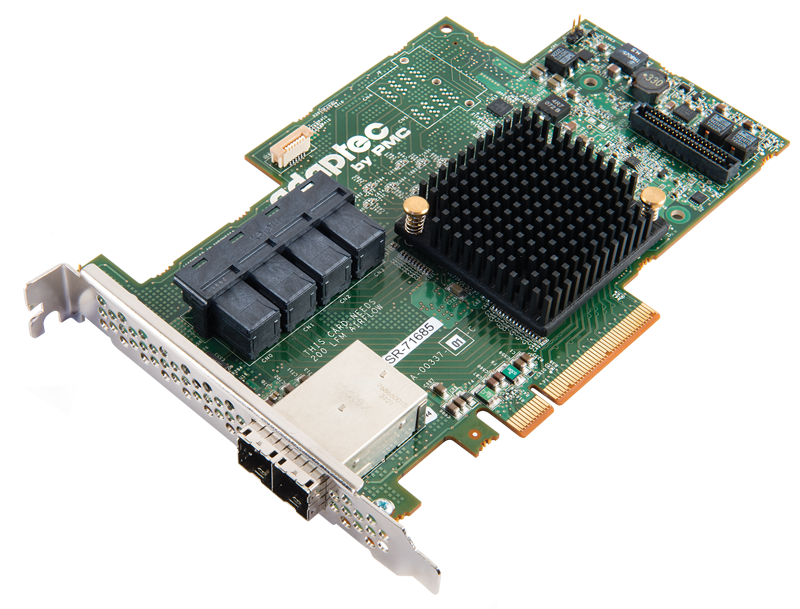 Adaptec RAID 71685 24-Port SAS/SATA 6Gb/s PCIe Gen3 RAID Adapter