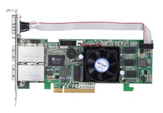 Areca ARC-1222X 8-port PCIe SAS RAID Controller - Low Profile / IOP 348 / 256MB ECC Cache No Expander Support.