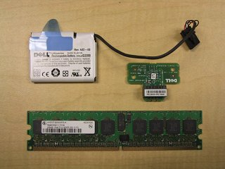 Dell H1813 Perc 4i Raid Kit  for Poweredge 1850 2800 2850 Server. Comes with 256Mb Memory, Battery, and Key.