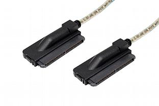 Jess Link 25890-23801-J40R SFF-8484 to SFF-8484 Internal SAS Cable. Right Angled Connectors With Opposite Orientation.