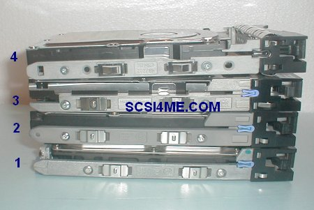 IBM Drive Caddy Trays