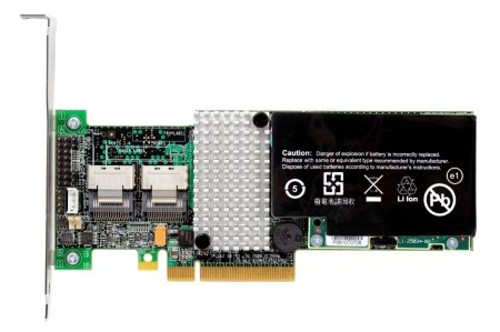 IBM ServeRAID M5015 PCI-E 8-Port (2x SFF-8087) 6Gb/s SAS RAID Controller. Battery Optional. (OEM LSI MegaRAID 9260-8i)