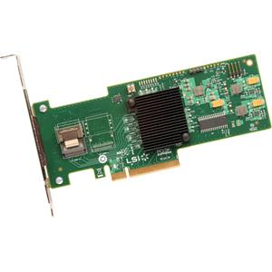 LSI MegaRAID SAS 9240-4i 4-port PCI-Express 6Gb/s SAS SATA RAID controller. 1x SFF-8087 connector. Card Only.