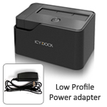 ICY DOCK MB981U3-1SA 2.5€ & 3.5-inchSATA & IDE SuperSpeed USB 3.0 Hard Drive Docking Station with Adapter