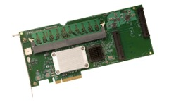 Intel SRCSAS18E (OEM LSI 8408E) 3Gb/s PCI-Express SATA SAS RAID Controller with 2x SFF-8484 Internal Connectors