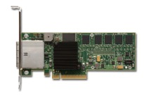 LSI Logic MegaRAID SAS 8880EM2 8-port 3Gb/s PCI Express SAS/SATA RAID Adapter