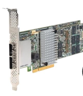 Intel SAS RAID Controller RS25SB008 6Gb/s PCI-E 3.0 1GB Cache. MFBU Optional. (OEM LSI 9286CV-8e)