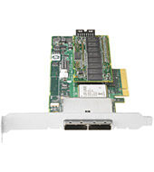 HP Smart Array E500 8-port PCIe SAS RAID controller with 2x SFF-8088 external connectors