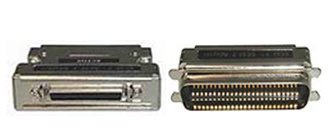TMC SM-030 High Density 50-pin Female TO Centronics 50-pin Male SCSI Adapter.