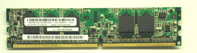IBM ServeRAID 8K Zero-Channel ZCR SAS RAID Controller with Battery. IBM P/N 25R8064.