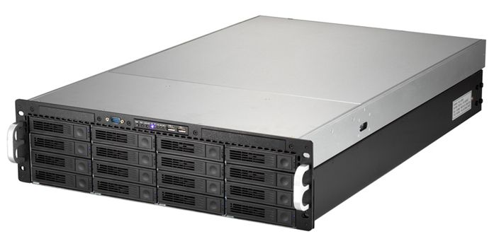 "Areca TK-316SCR 3U 16 Bay Rackmount - 650W 2+1 Hot Swap Redundant P/S (Expander Version) 5.4 (H) x 19"" (W) x 23\"" (D)"