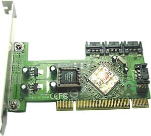 Tekram TR-824 PCI 4-Port SATA Controller with Support for RAID 0/1