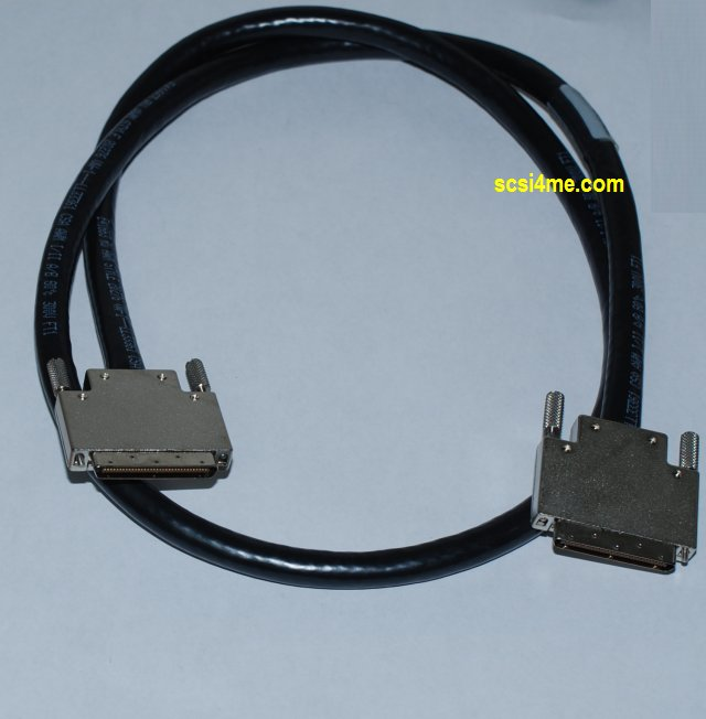 SCSI Cable External 2/'/' High Density HD68 68-pin Male to Male