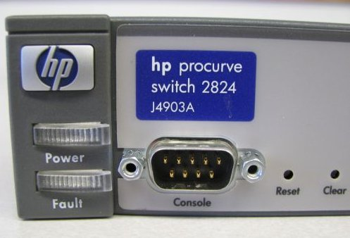 Hp procurve switch 2824 setup