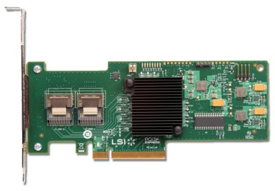 IBM ServeRAID M1115 LSI 9223-8i 8-Port PCIe 6Gbps SAS/SATA Controller with RAID 0,1,10 support