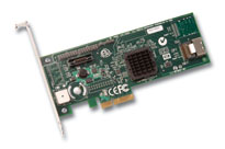 LSI00132 - LSI Logic  MegaRAID SAS 8204ELP 4-port PCI-Express SAS / SATA RAID Controller. Retail Kit.