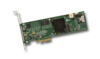 LSI Logic MegaRAID SAS 8704ELP 4-Port PCI Express 3Gb/s SAS RAID Controller